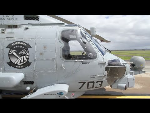 Australian International Airshow 2011: US Navy MH-60R Seahawk helicopter