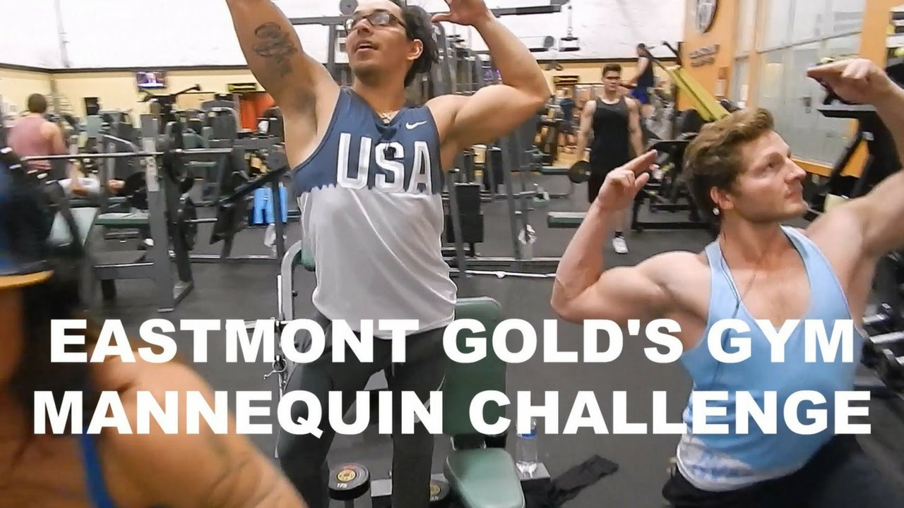 Eastmont Gold's Gym Mannequin Challenge - YouTube