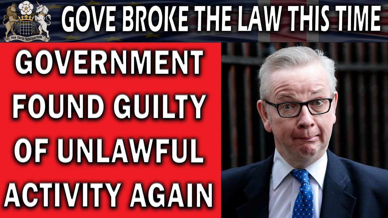 Gove Found Guilty of Unlawful Contract Award