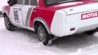 Ледовые гонки в Тюмени (обзр машин)