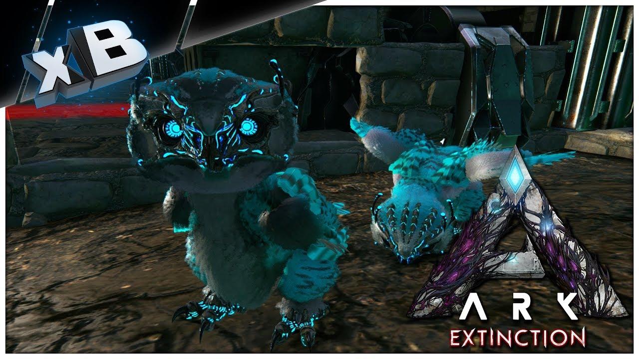 xBaby Snow Owl Mutation! :: ARK: Extinction DLC :: E08