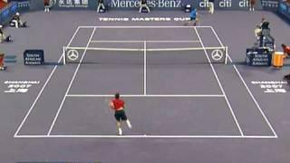 Roger Federer vs Fernando Gonzalez -- Shanghai 2007 Highlights