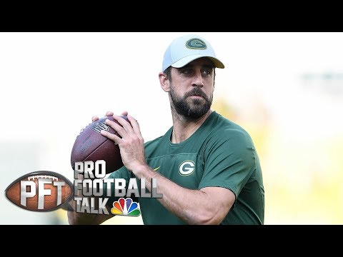 Aaron Rodgers' new deal actually worth six years, $176M I Pro Football Talk I NBC Sports