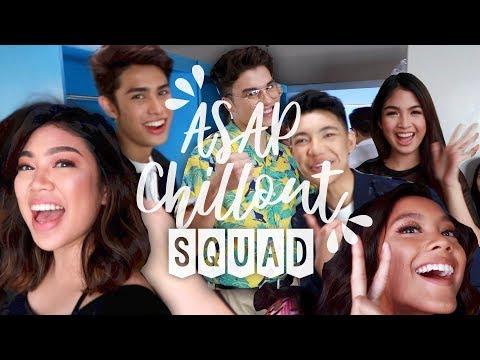 ASAP Chillout BTS ft. Ylona, Darren, Heaven, Markus & Donny   Janina Vela