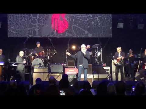 David Letterman Reunites With Paul Shaffer At Love Rocks NYC 2020