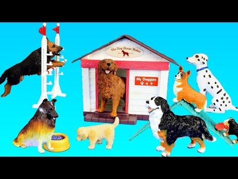 toy-dogs-school-playset-for-kids---learn-animal-names-for-kids