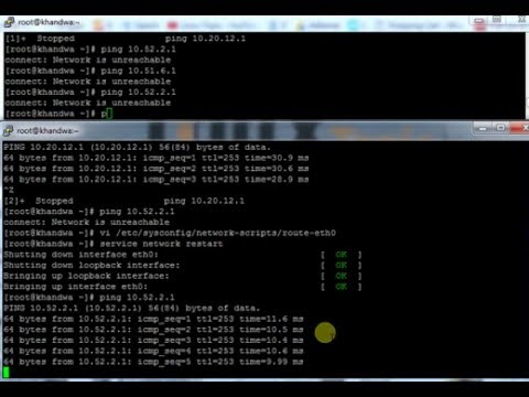 Routing In Linux With Diffrent Network