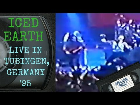 Iced Earth Live in Tubingen Germany June 17 1995 FULL CONCERT