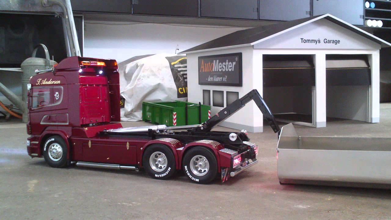 1/14 RC Tamiya Scania (2) - YouTube