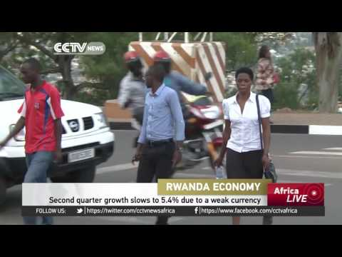 Rwanda second quarter growth slows to 5.4% due to weak currency