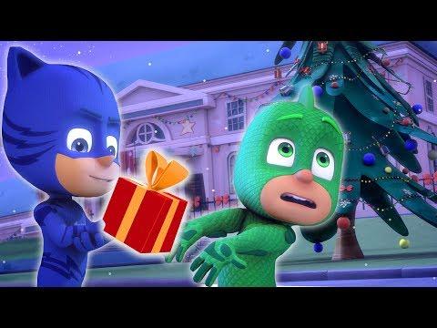 PJ Masks Deutsch Pyjamahelden 🎄Weihnachts-Special:  Gecko Rettet Weihnachten 🎄Cartoons für Kinder