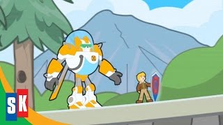 Transformers Rescue Bots: Return Of The Heroes (3/4) Blades and Cody Inside a Video Game HD