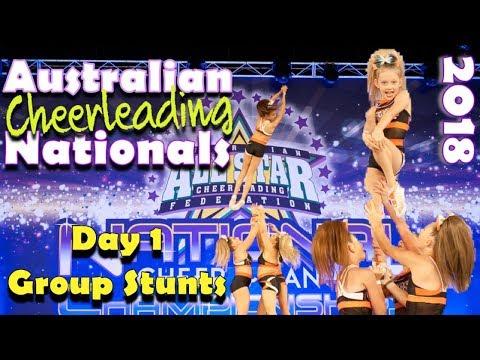 Australian Cheerleading Nationals Championships Day 1