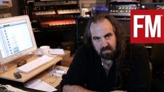 Arthur Baker in Mute studios 2006