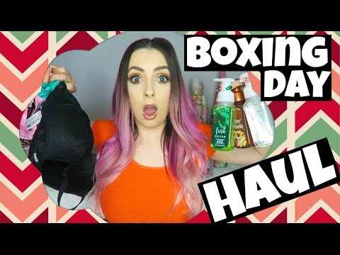 BOXING DAY SALES HAUL!!!!!