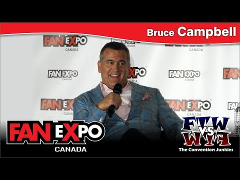 Bruce Campbell (Ash / The Evil Dead) FAN eXpo Canada 2017 Q&A Panel
