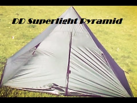 My Opinion Of The DD Superlight Pyramid Tent & My Opinion Of The DD Superlight Pyramid Tent - YouTube