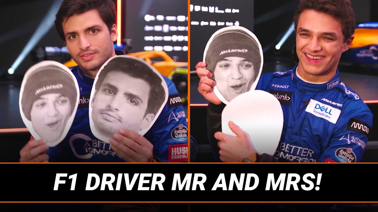Download Who Is Better With The Ladies? Lando Norris vs. Carlos Sainz