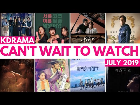 18 New KDramas In JULY?!