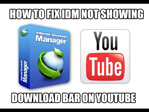 how to solve idm bar not appearing on youtube videos while playing firefox