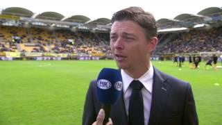 Jon Dahl Tomasson [pregame] Roda JC Kerkrade - AZ 6 april 2014