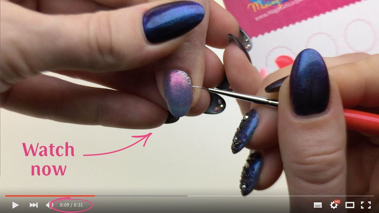 Magic Gel System - Learn how to sculpt SUPER TOUGH nails - YouTube