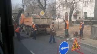 Дорожные работы в час пик(, 2017-04-06T07:45:32.000Z)