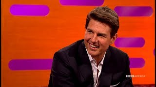 Tom Cruise's Top Secret Mission Impossible Stunt - The Graham Norton Show