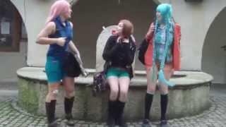 Reboot ~ Hatsune Miku, Megurine Luka & Samune Zimi ~ Live action [AquaTeamCosplay]