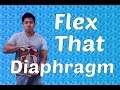Breathe With Your Diaphragm | Wavy Gravy | A Simple Exercise