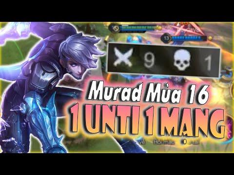 [Liên Quân] Murad Mùa 16 Vẫn Cực Khoẻ 1 Combo Bốc Hơi - Team Bạn Phải Đầu Hàng