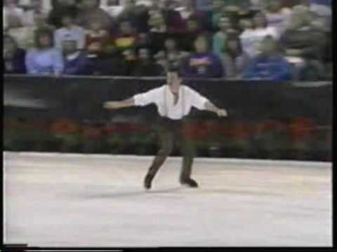 Figure skater J Scott Driscoll. skates to DANNY BOY