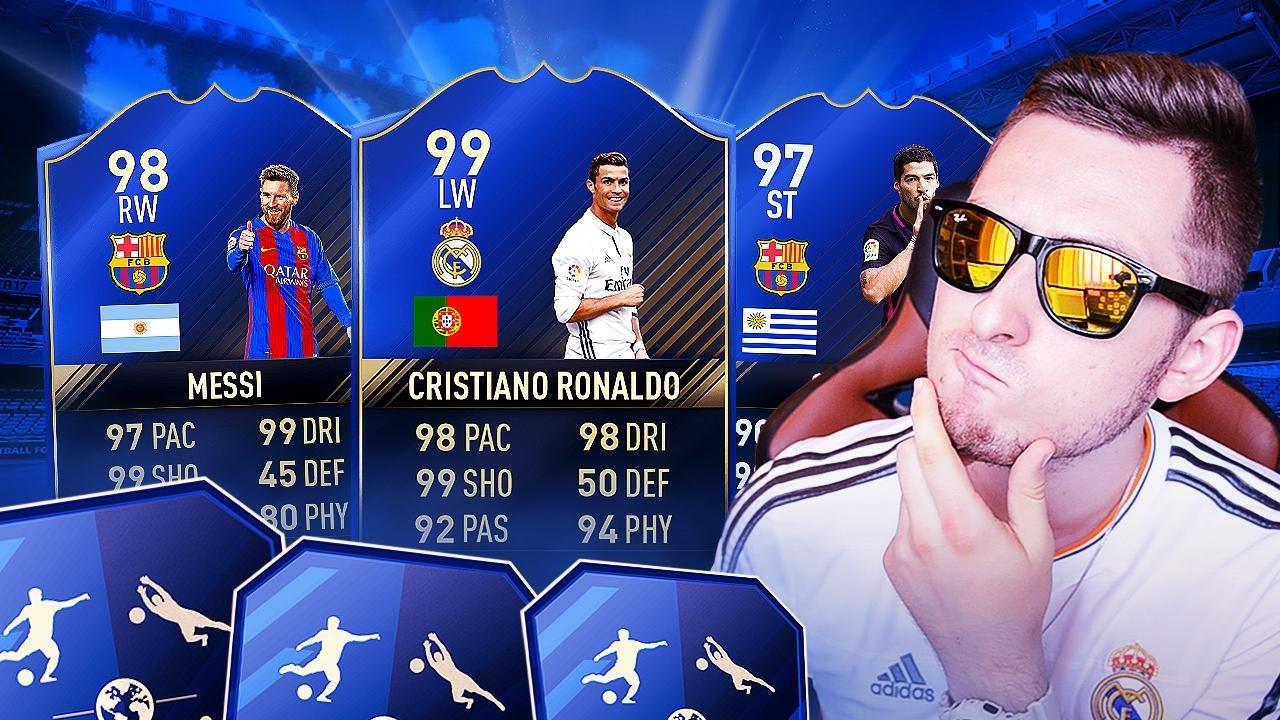 FIFA 17 – DWA WALKOUTY NA KONIEC TOTY!