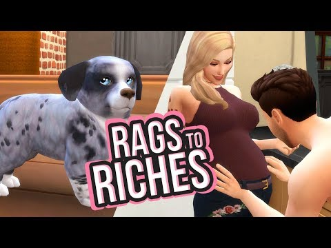 Ready to Pop! | Sims 4 Rags to Riches Challenge Ep.9 | The Sims 4