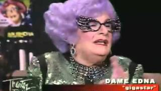 "Theater Talk: ""Dame Edna: Back with a Vengeance"""