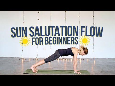 Sun Salutation Flow For Beginners (Free Class)