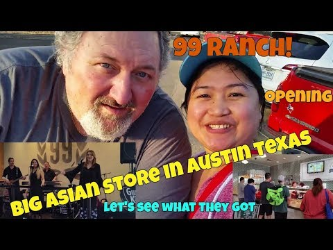 FILIPINA AMARICAN LIFE IN AMERICA WE WILL GIVE YOU A TOUR NEW ASIAN GROCERY IN AUSTIN RANCH 99