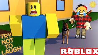If You Laugh You Lose.. Roblox Try Not To Laugh Challenge! [Part 20]😂