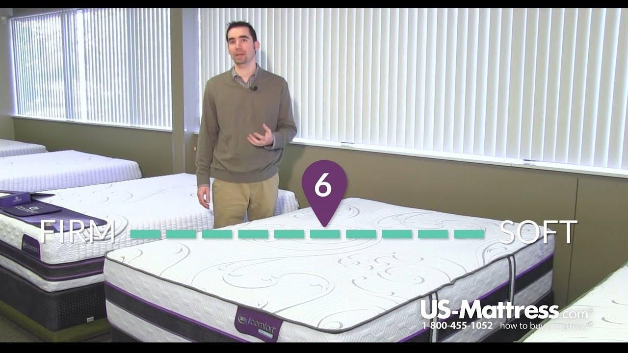 serta icomfort hybrid hb700s plush mattress expert review youtube
