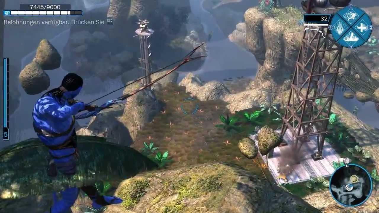 avatar aufbruch nach pandora spiele