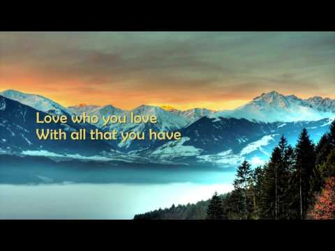 Love Who You Love - Rascal Flatts [HD][Lyrics]
