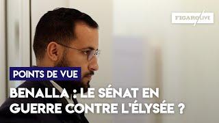 Benalla : le sénat en guerre contre l'Élysée ?