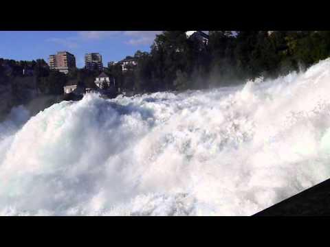 Cascada Rinului - YouTube