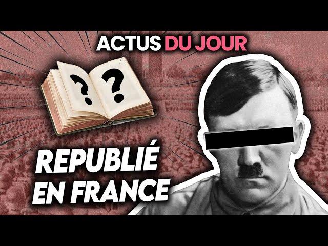 Meℹ️n K🅰️mpf rediffusé en France, agression raciste à Cergy, e-sport aux JO... Actus du jour