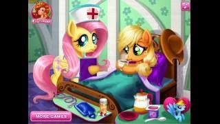 Applejack Stomach Care (Лечить желудок пони Эпплджек) - прохождение игры