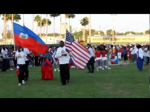 Haitian Flag Day Festival Marching Band Festival Video ( National Anthem )