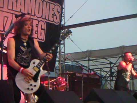 Marky Ramones Blitzkreig - Clearfield PA - Open  teenage lobotomy  psycho thearopy
