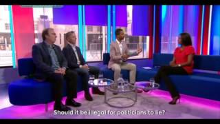 Should it be illegal for politicians to lie?