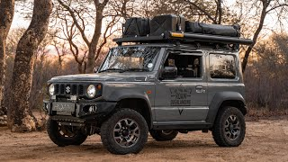 Is This The Ultimate Touring Roofrack Setup for a Jimny?? (2019)