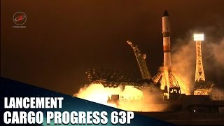 Lancement | Soyuz 2.1A | Progress MS-02 (63P)